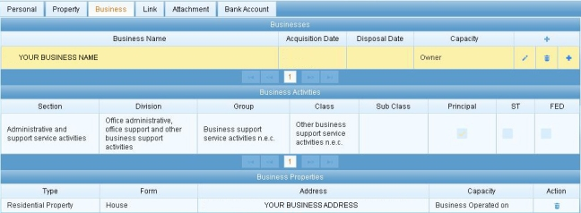showing-linked-business-address
